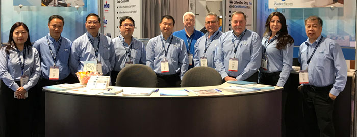IAPMO R&T, R&T Lab, EGS, UES, IBT, RPA Make Impressions During Slate of Tradeshows