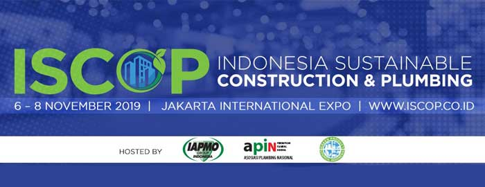 Indonesia Sustainable Construction & Plumbing Summit 2019 Announced for November