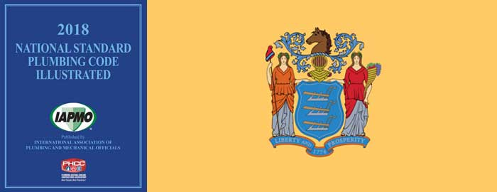 New Jersey Adopts 2018 National Standard Plumbing Code™