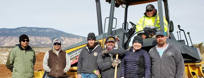 CPC Navajo Mountain Plumbing Project Delivers New Water Supply, Septic Systems
