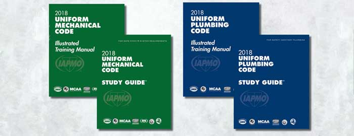 IAPMO Makes Illustrated Training Manuals and Study Guides Available Free Online